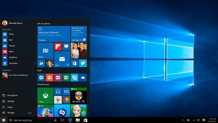 Windows 10 1909 Güncellemesi